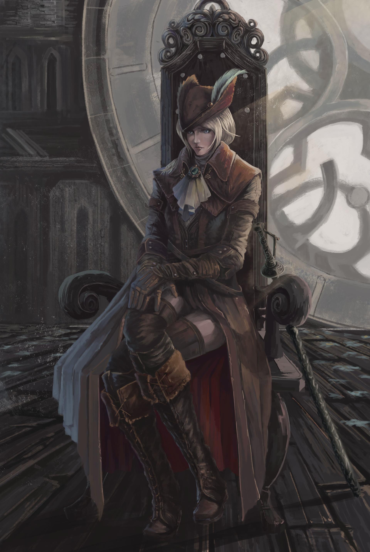Artstation Bloodborne Lady Maria Xiong Chenwen