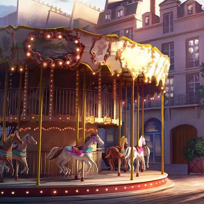 Sylvain sarrailh carroussel