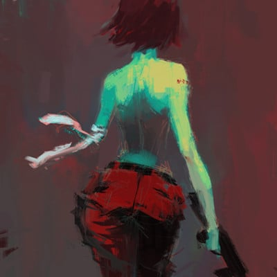 Alex chow pab comic cover