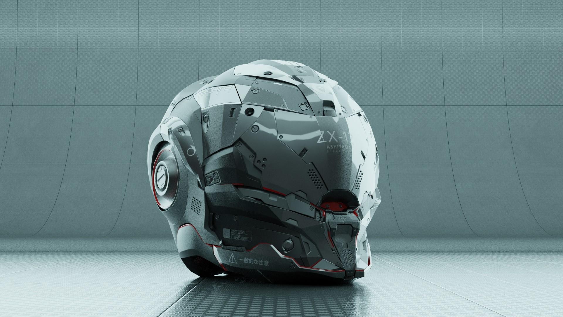 Jerry perkins mx1001 dm helmet2