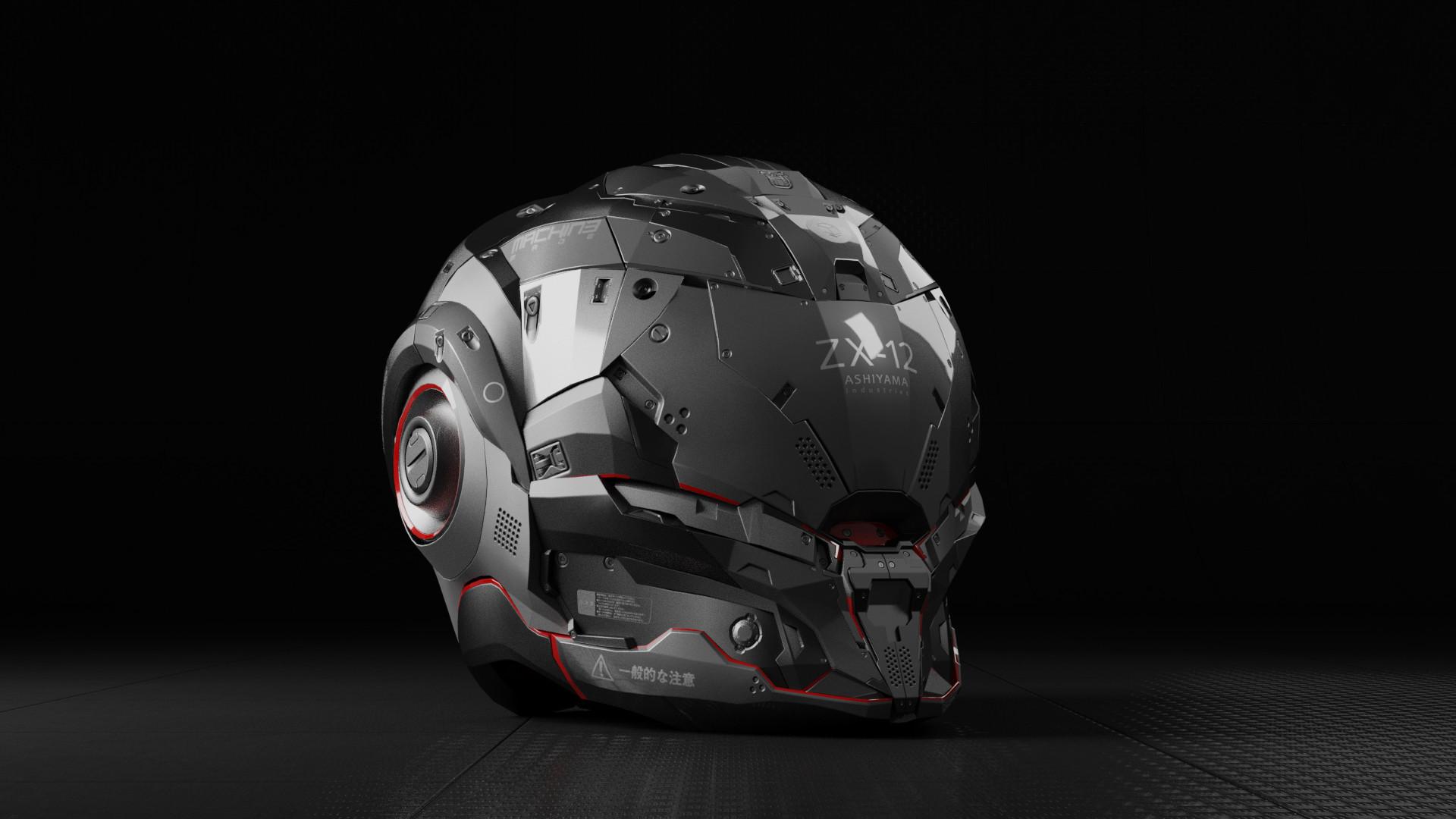 Jerry perkins mx1001 dm helmet4
