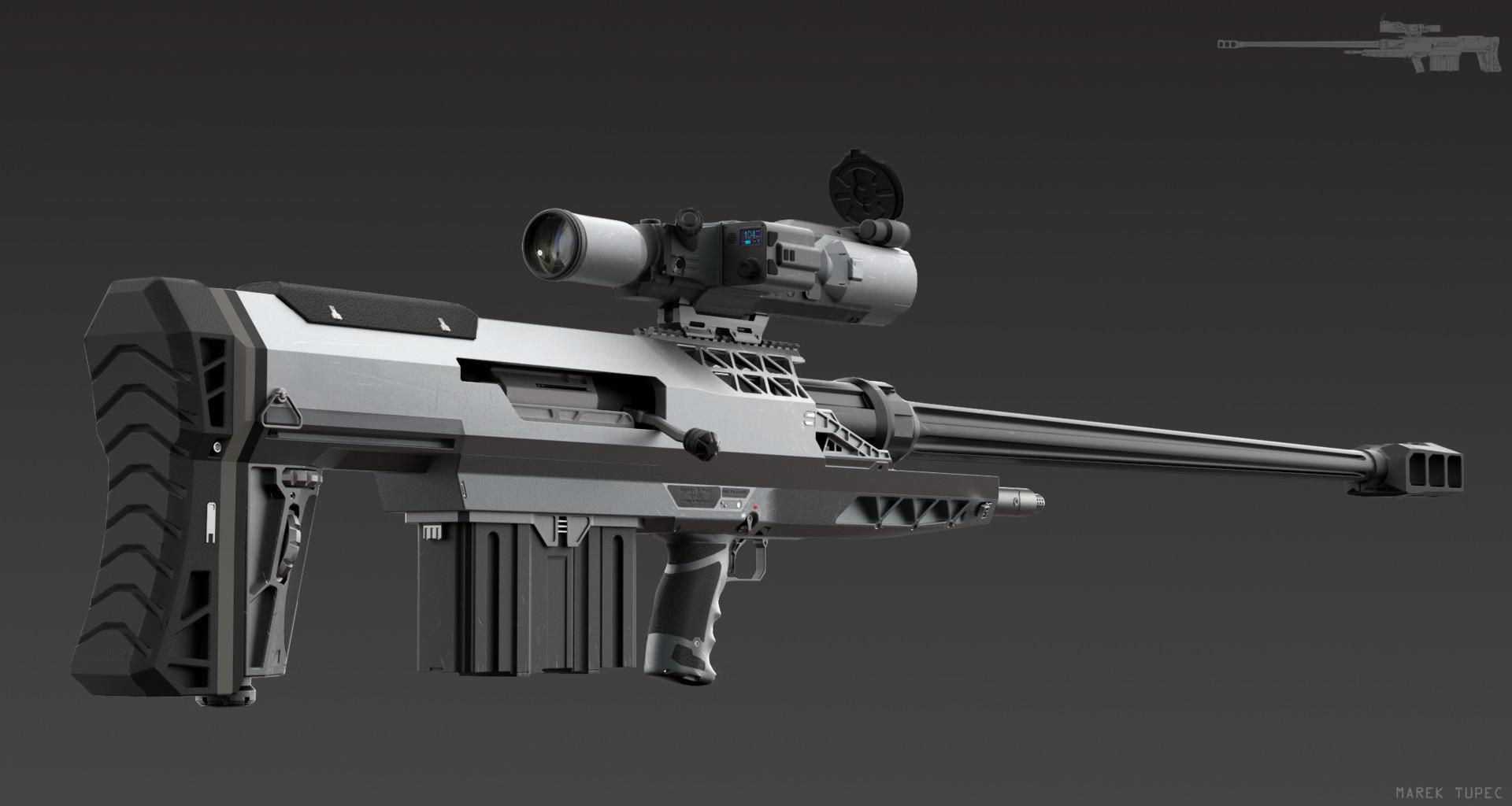 Shooting Material: RFS -25 Anti-material Rifle