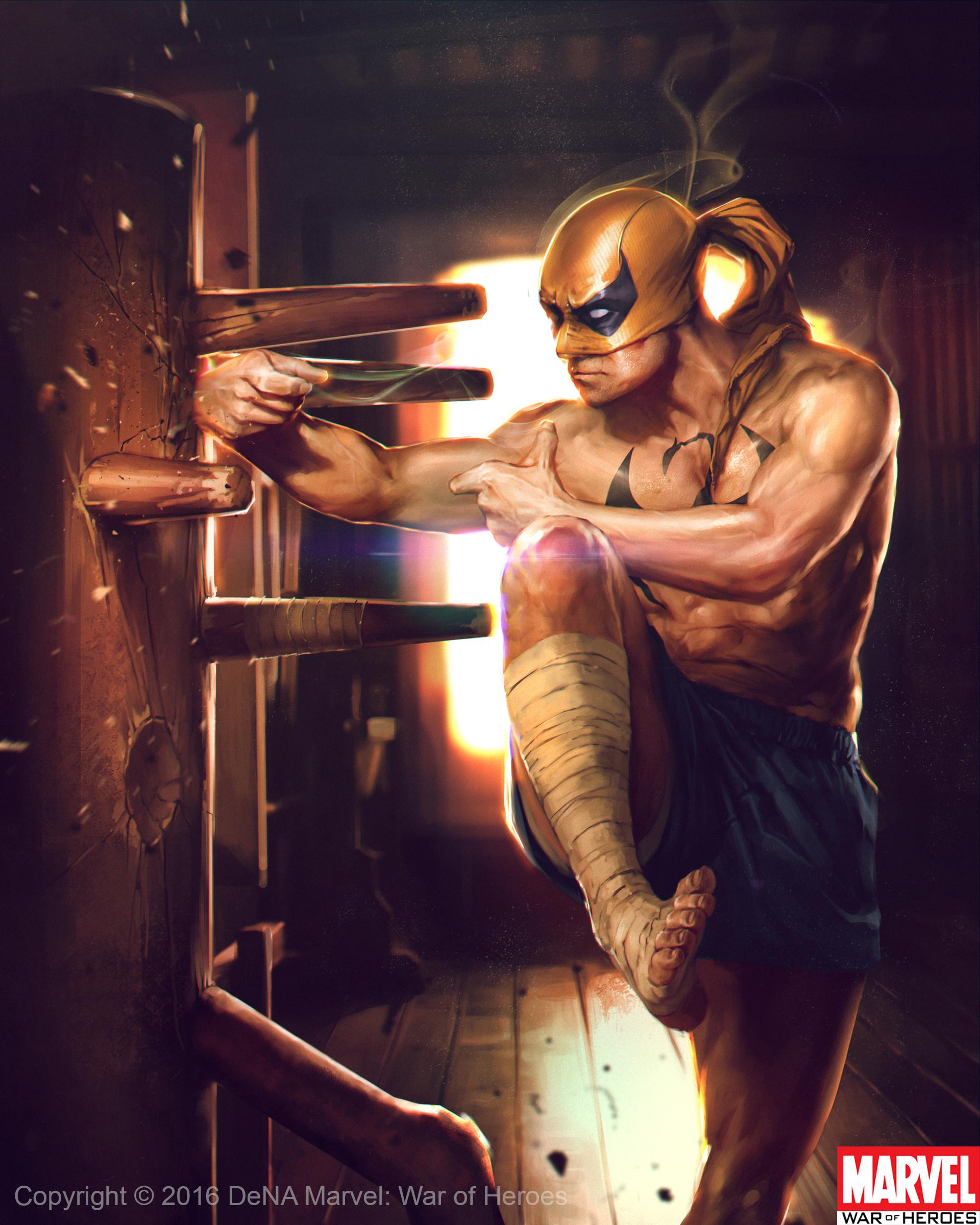 Denys tsiperko iron fist evo 1