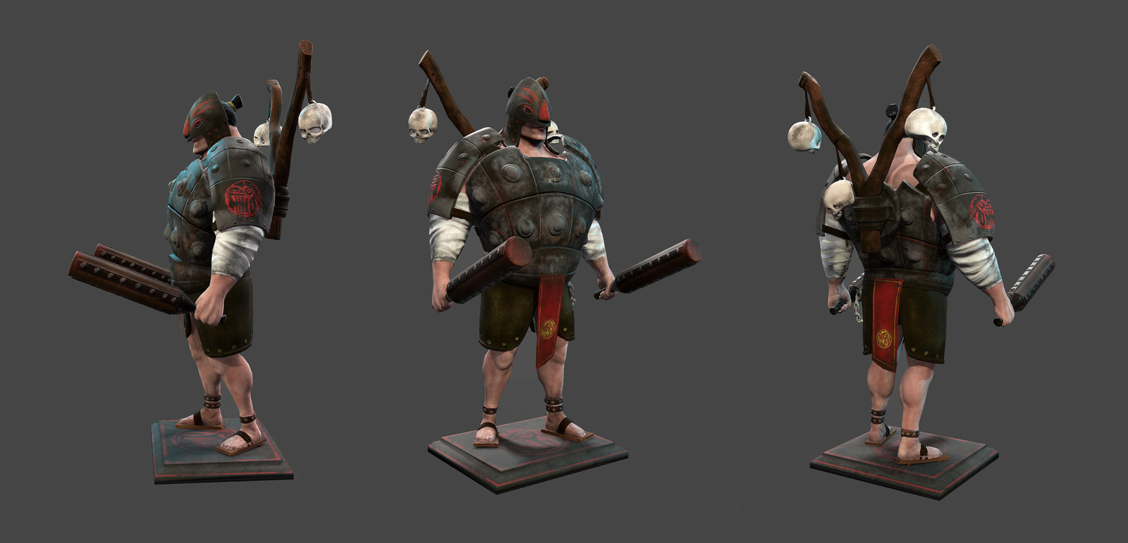 Rhin, Ancient Civilizations: Lost & Found: Game Character Art Challenge