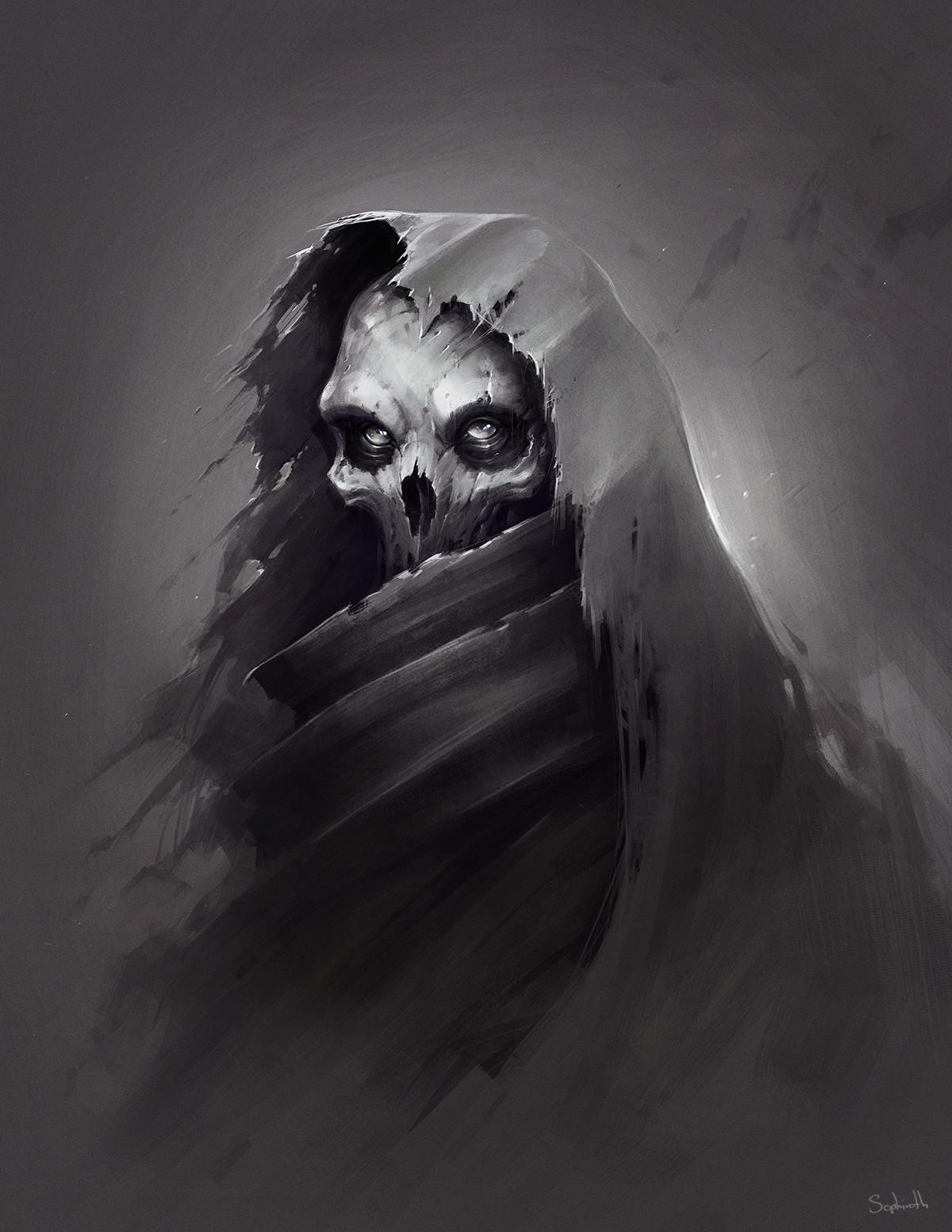 Sephiroth art ghost1200