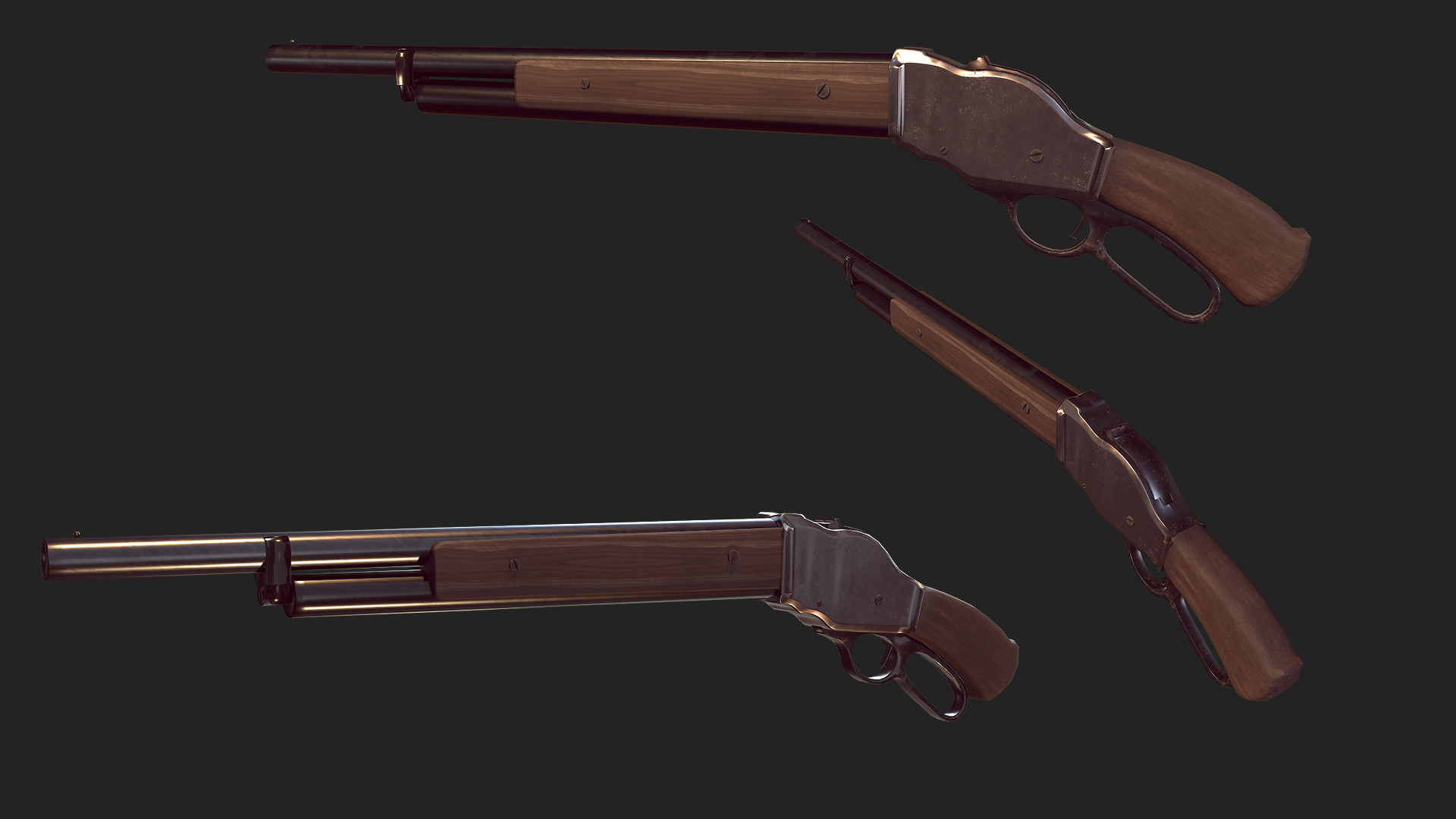 Winchester Model 1887 by Diego Cremades