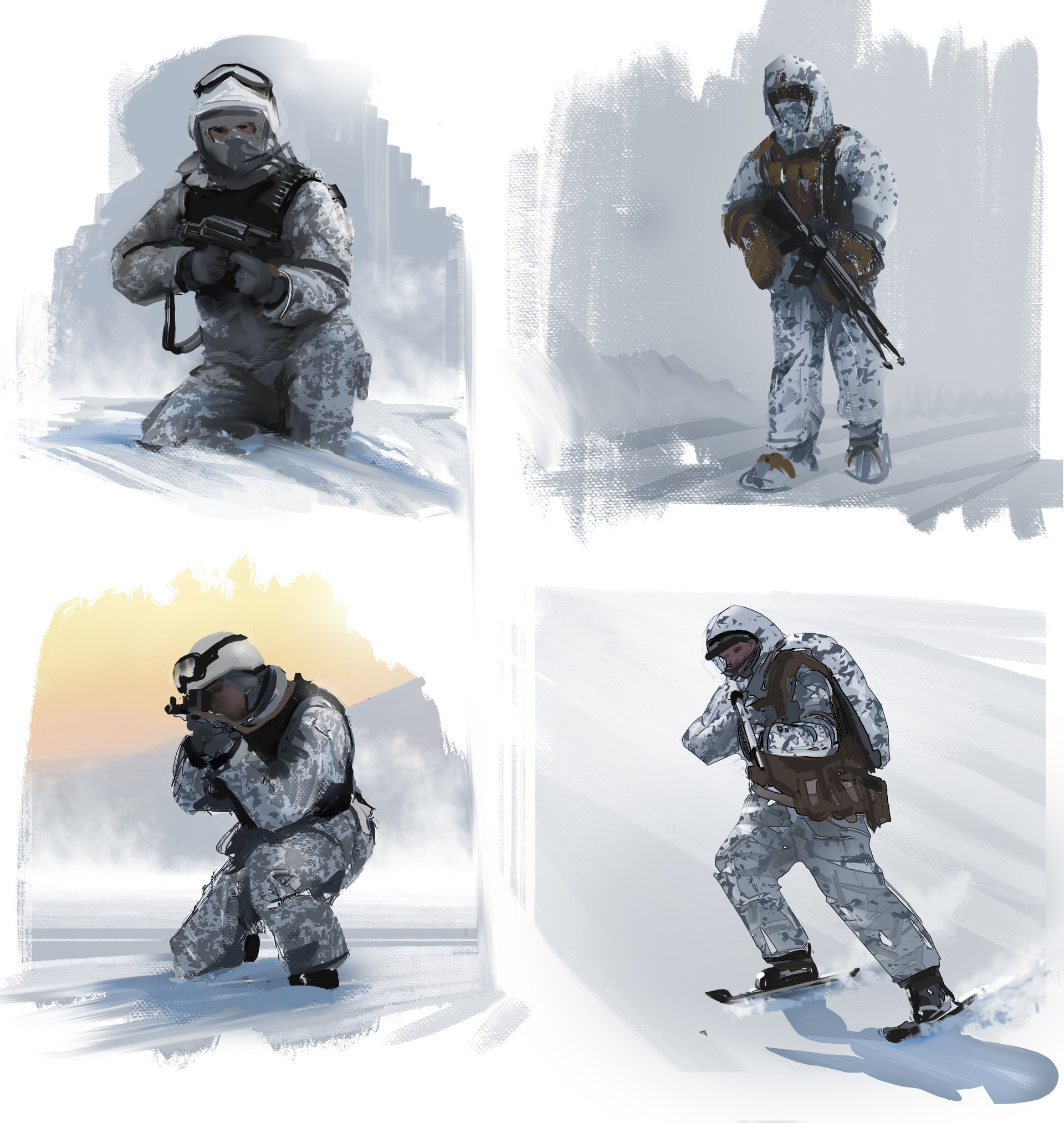 Ran cilento soldier sketches