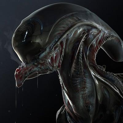 Alex heath underbite alien