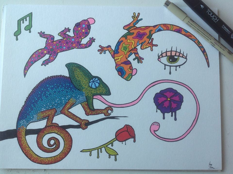Jason guay lizards on acid