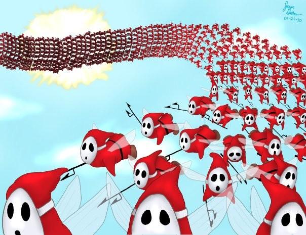 'Swarm of Beezos'