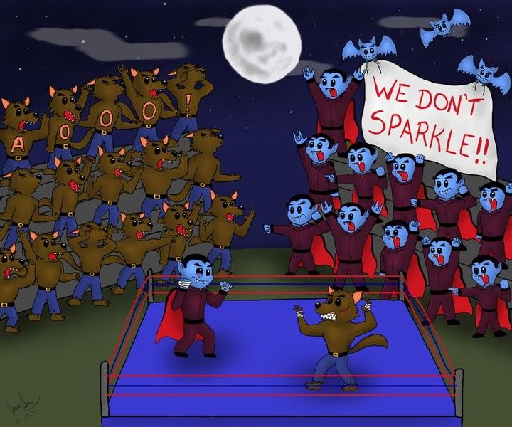 'Vampires vs. Werewolves'