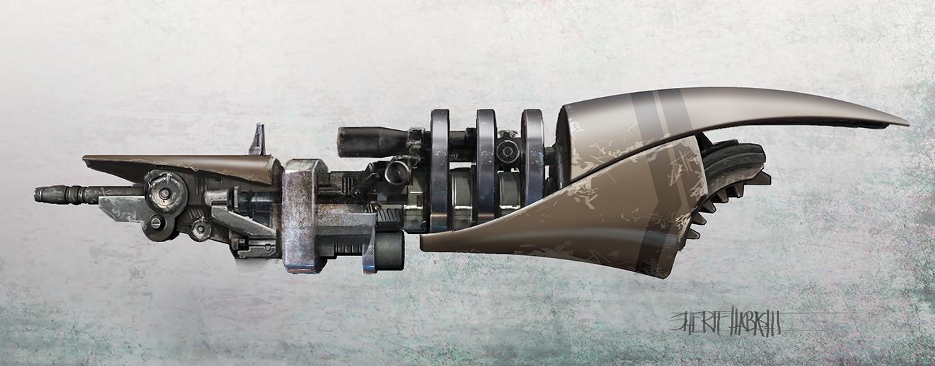 Cruiser Beam Weapon