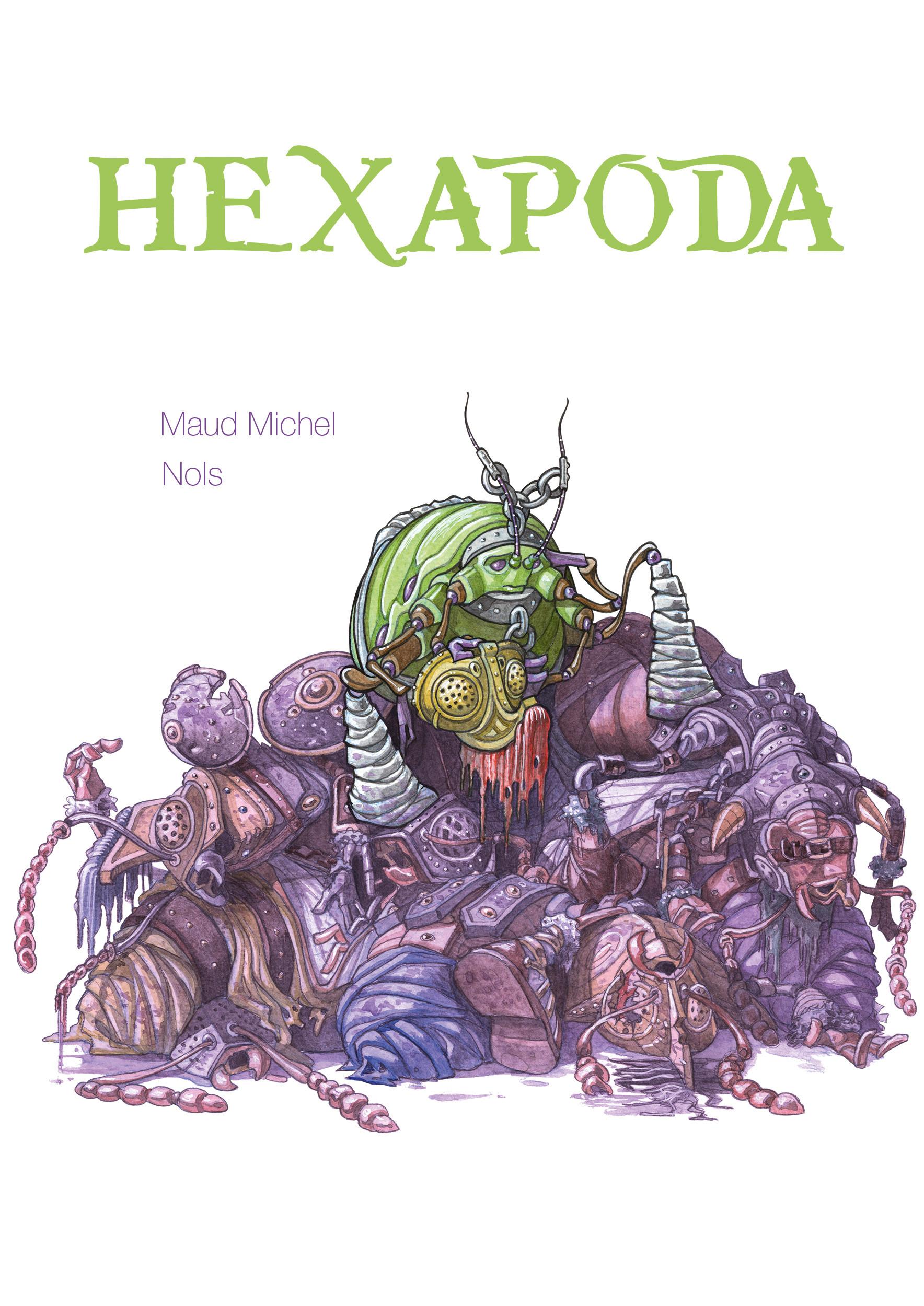 Signarbieux nicolas hexapoda couv