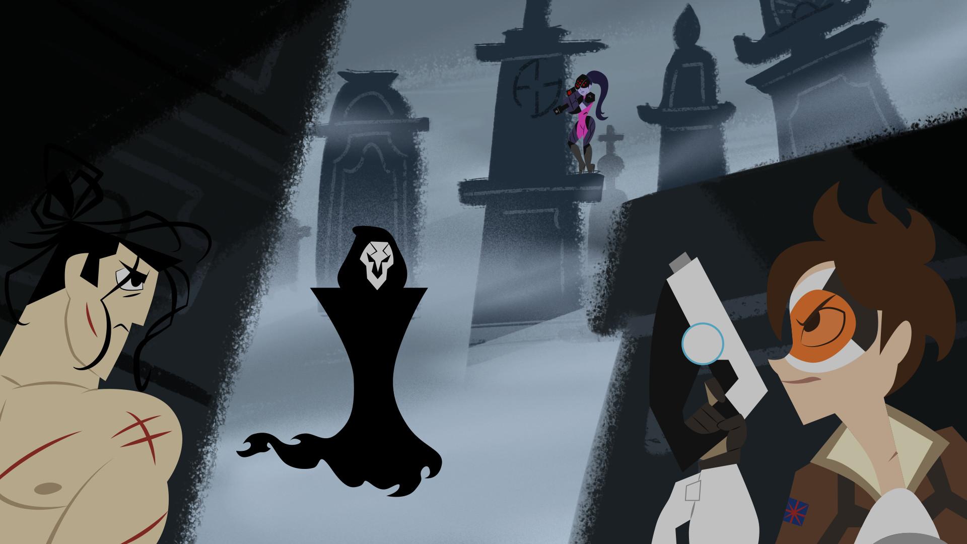 widowmaker x reaper