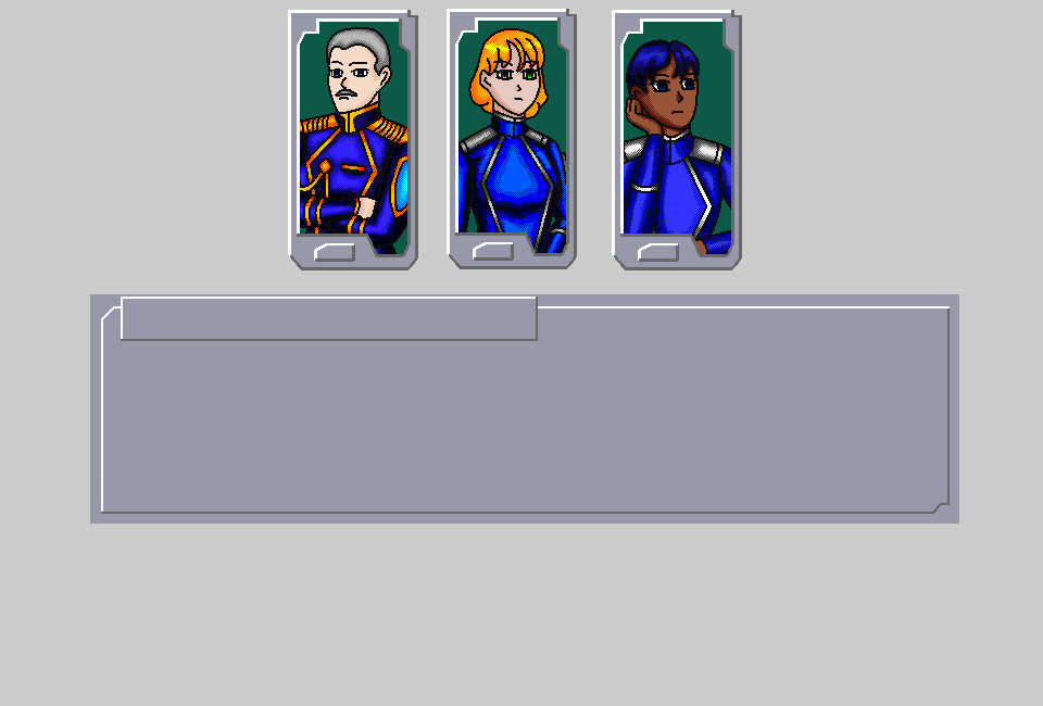 Character Sprites and Text Box UI