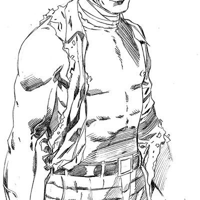Piotr kowalski thomas sketch 1