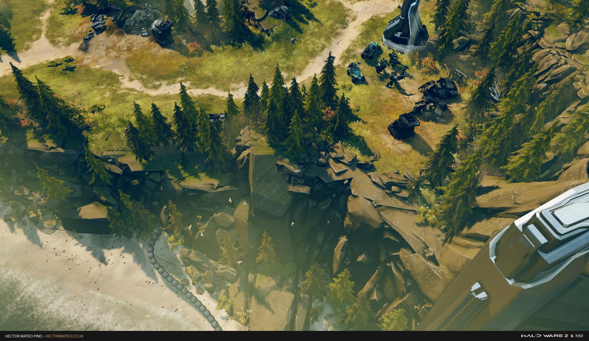ArtStation - Halo Wars 2 , Hector Mateo Pino