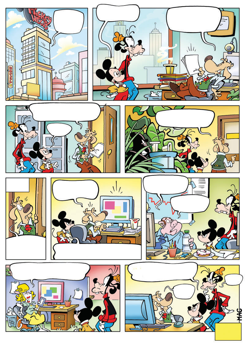 Mickey enigme n°2 ( Journal de mickey n°3386 du 10 mai 2017 )