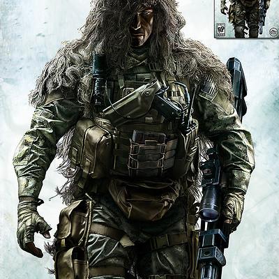Gregory pedzinski sniper ghost warrior2 cover01