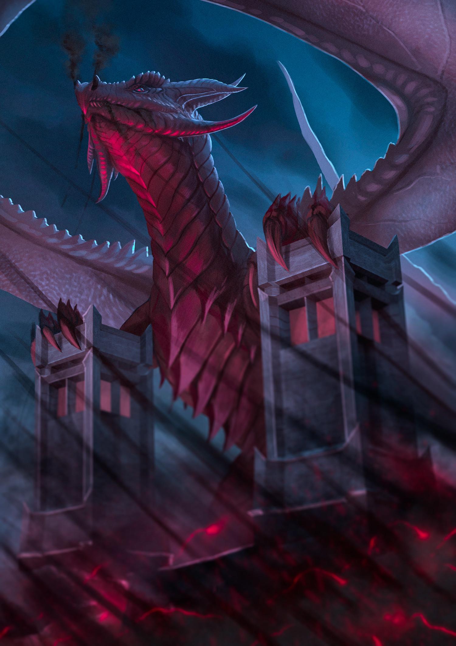Robert crescenzio horror dragon final