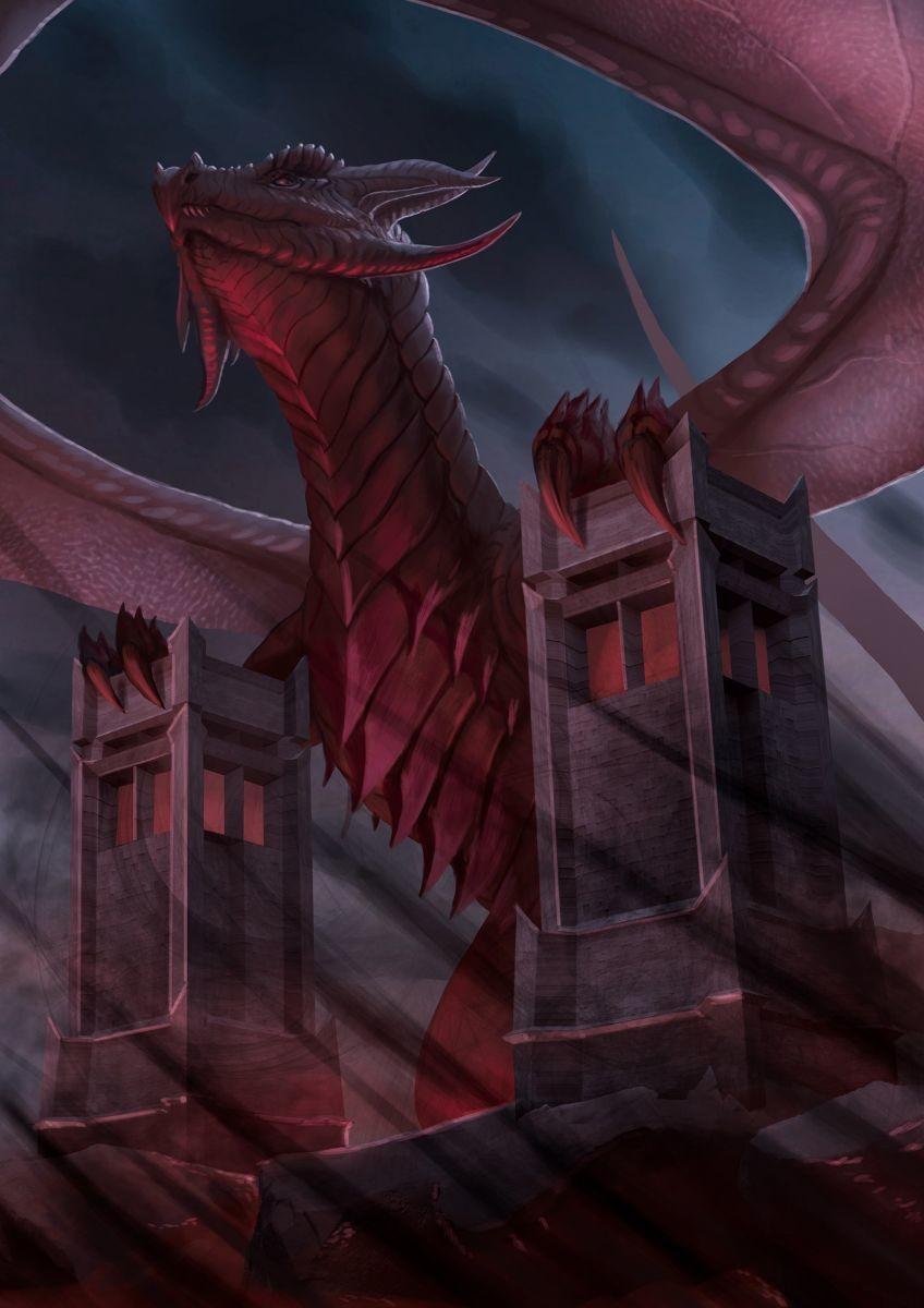 Robert crescenzio horror dragon 04