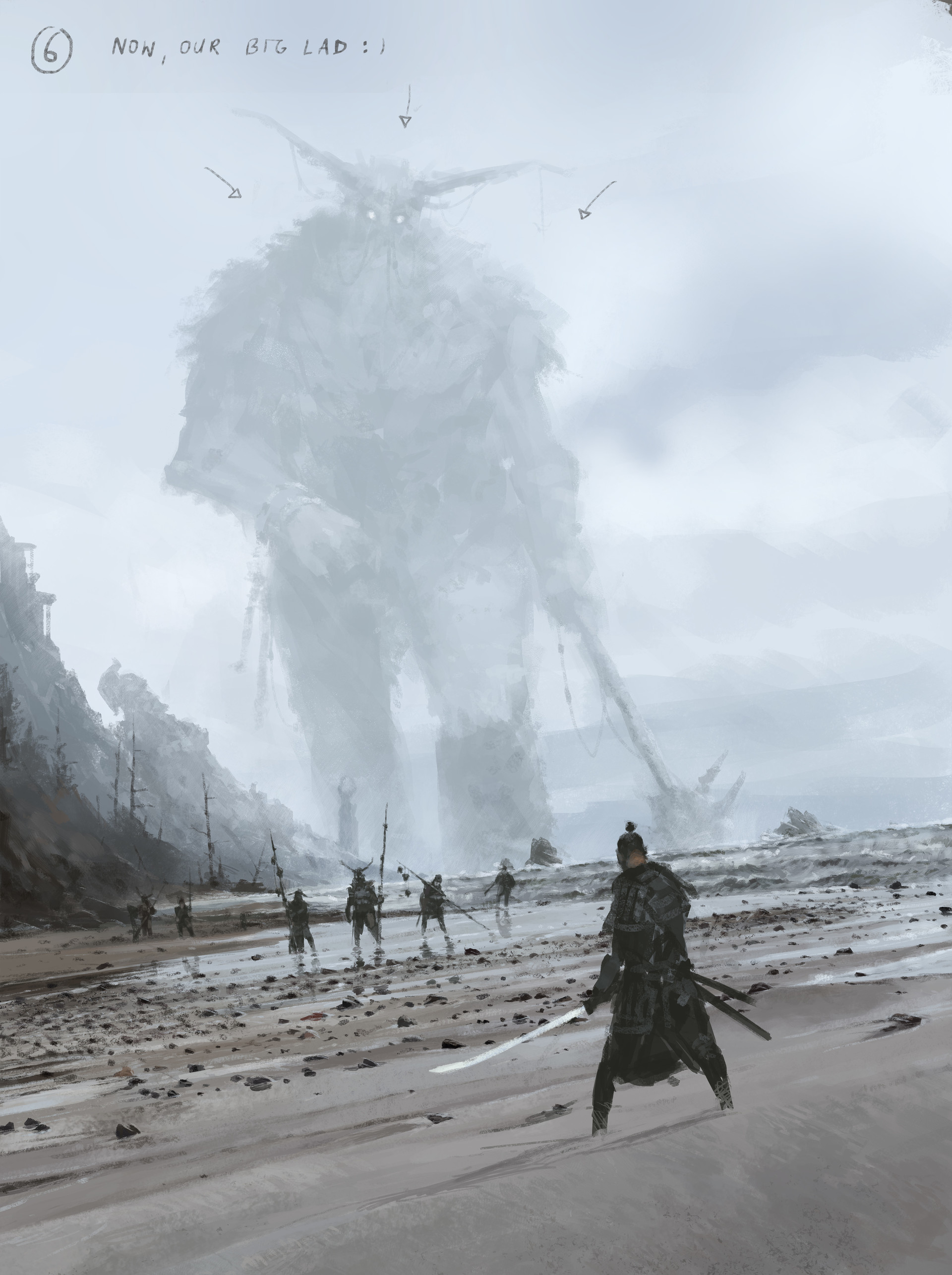 Jakub rozalski ancients conceptart 10process6
