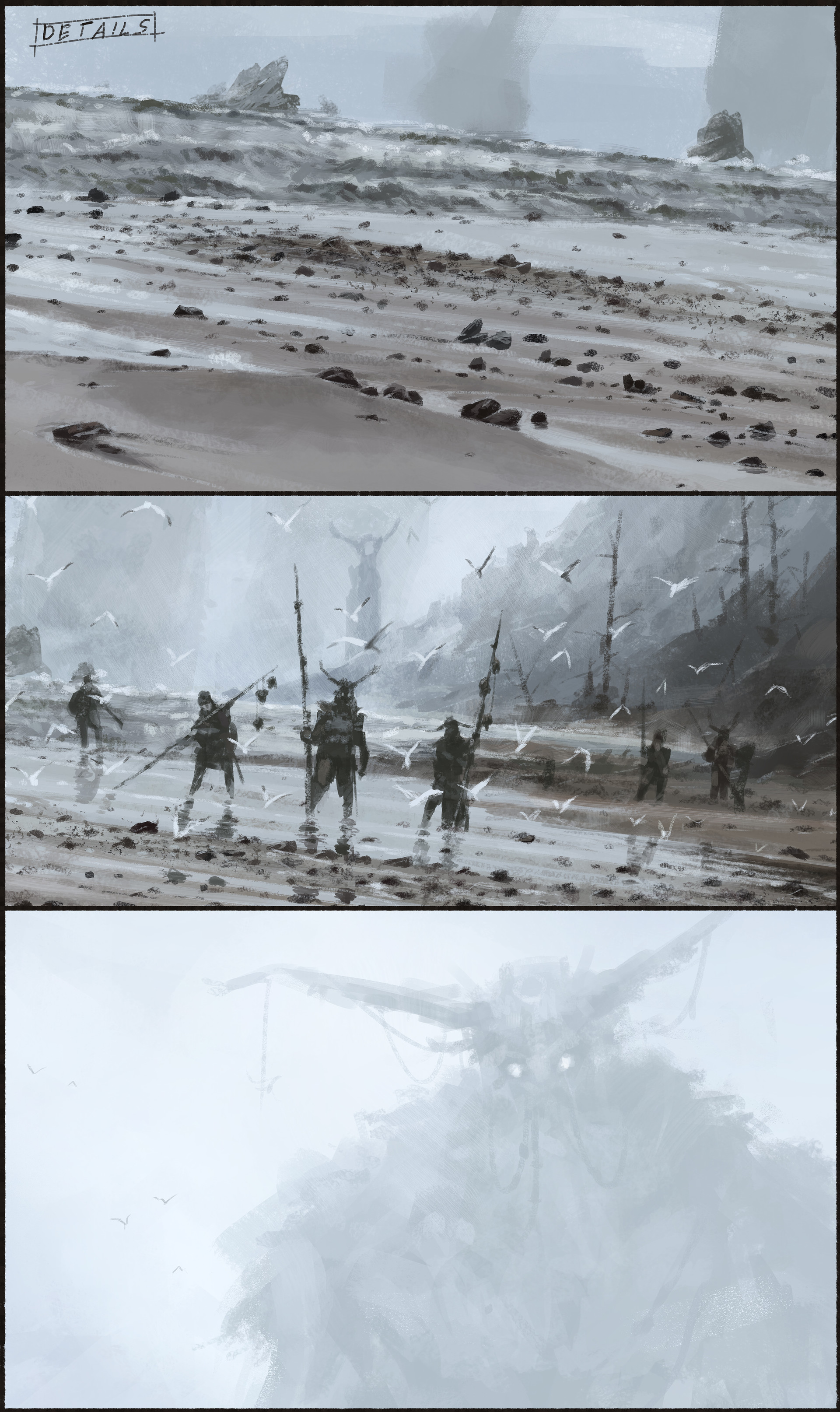 Jakub rozalski ancients conceptart 10process8