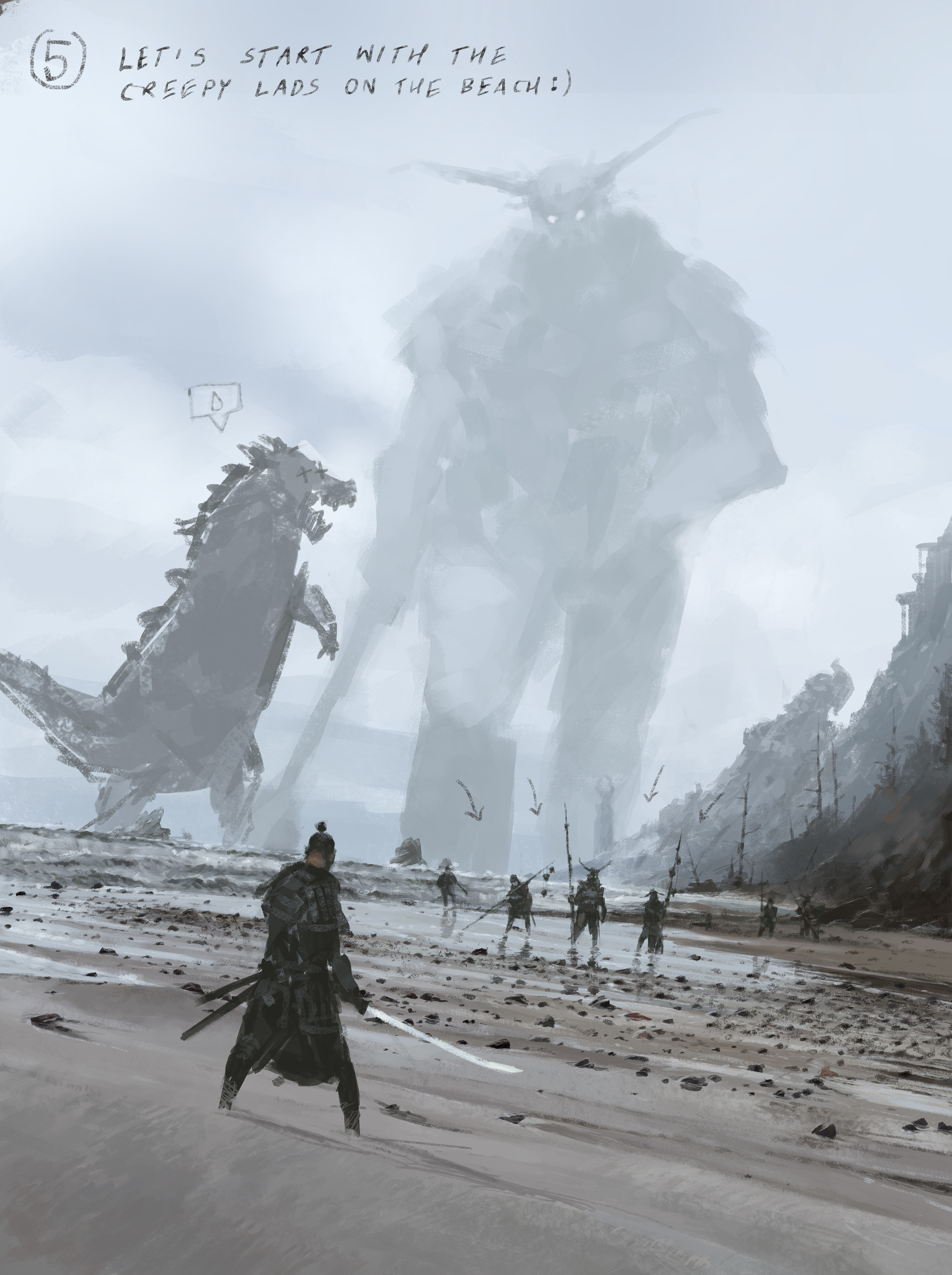 Jakub rozalski ancients conceptart 10process5