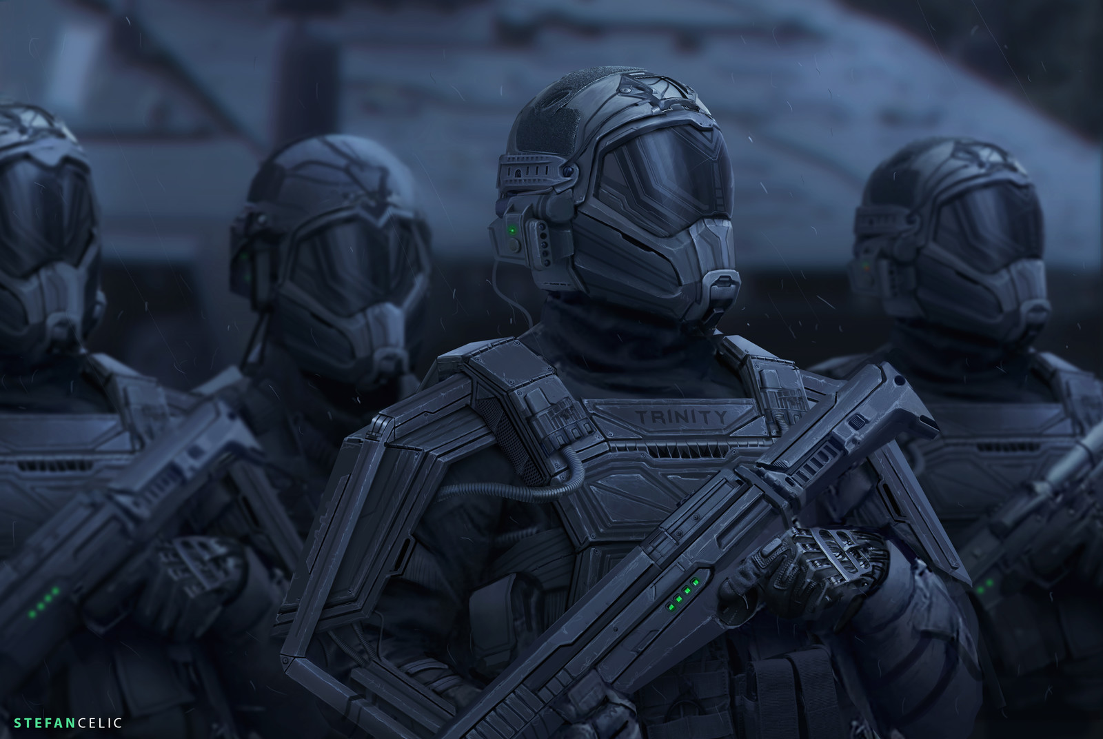 Trinity Corp: Soldiers