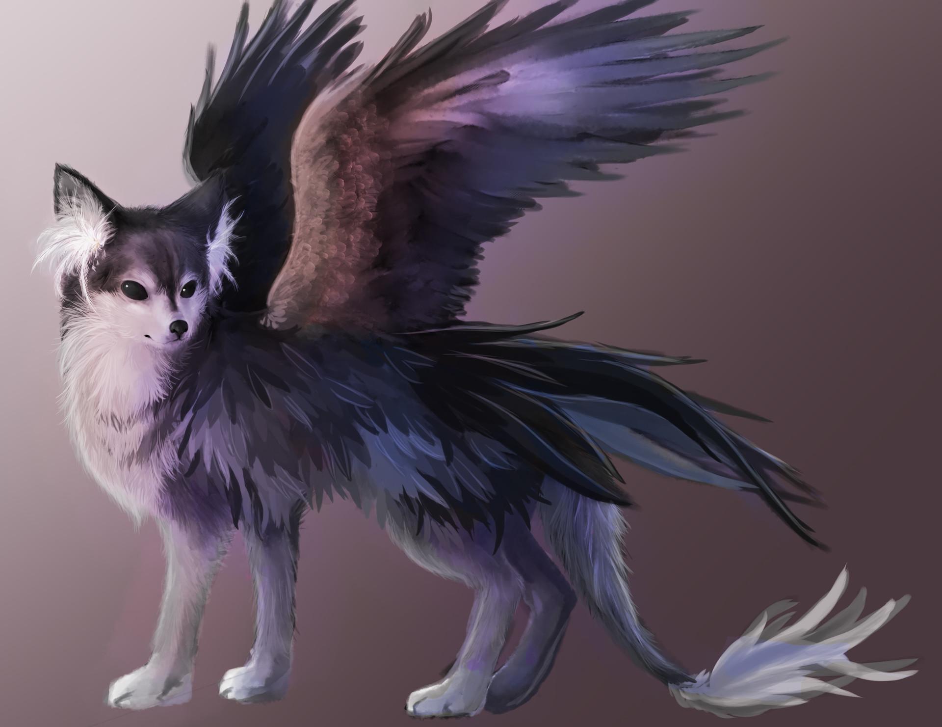 artstation wolf griffin concept sasha jordan