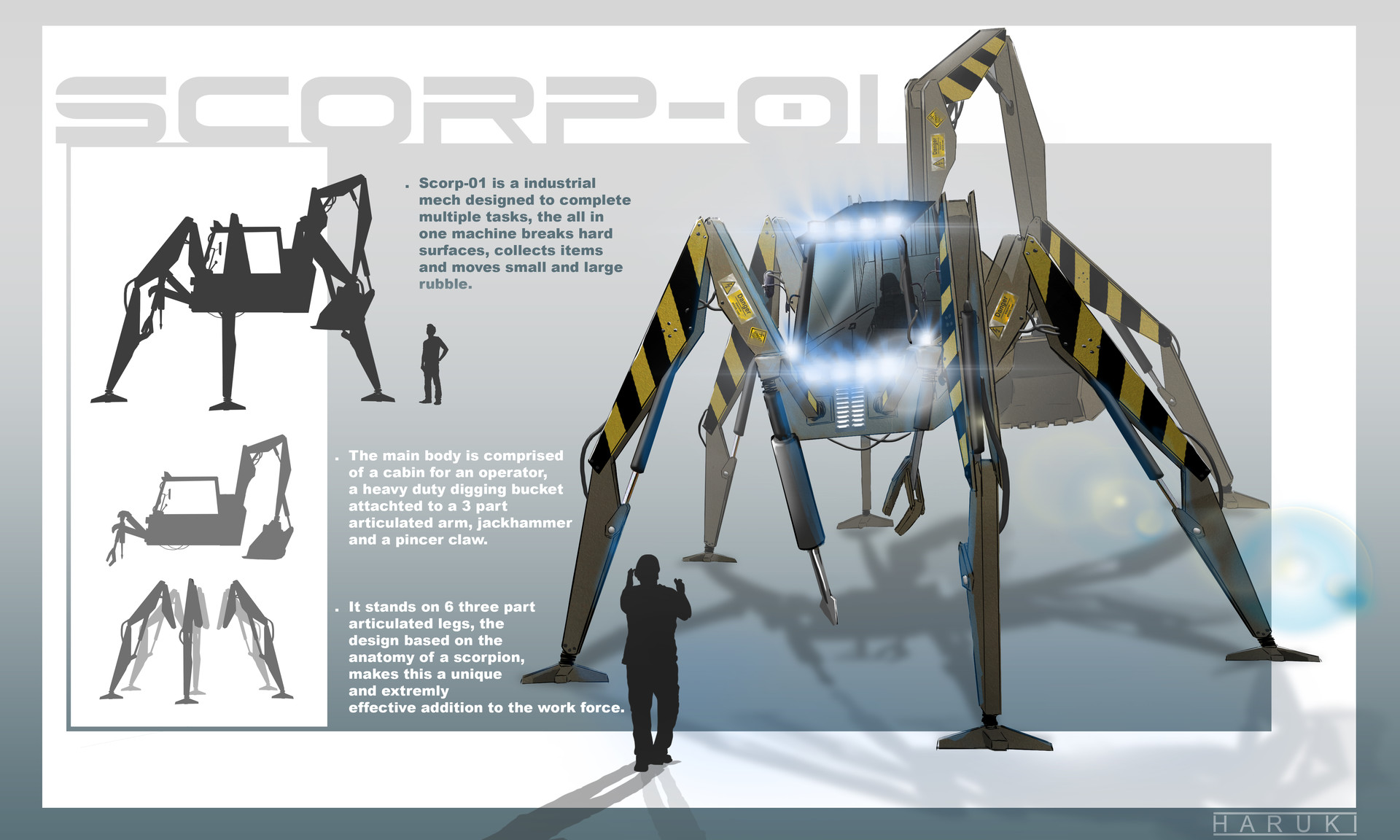 ArtStation - SCORP-01, Haruki Design