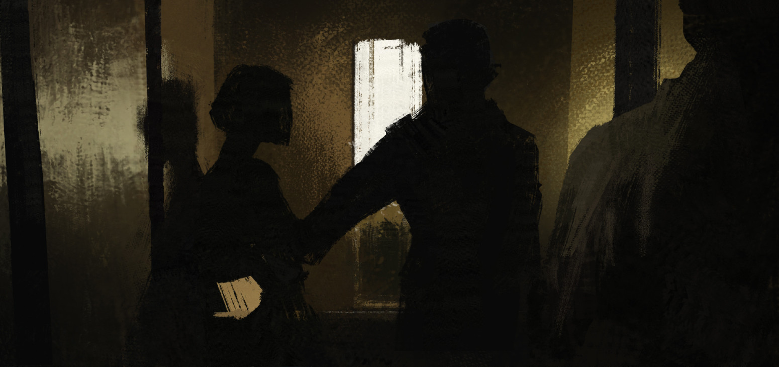 sketch - silhouettes and light