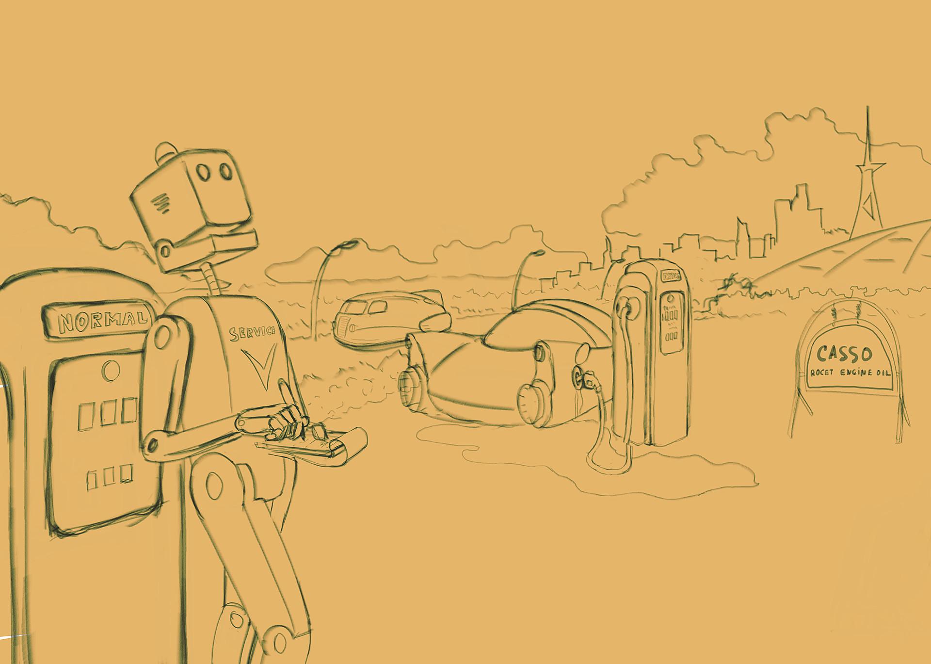 Dmytro bidnyak robot poet pencil