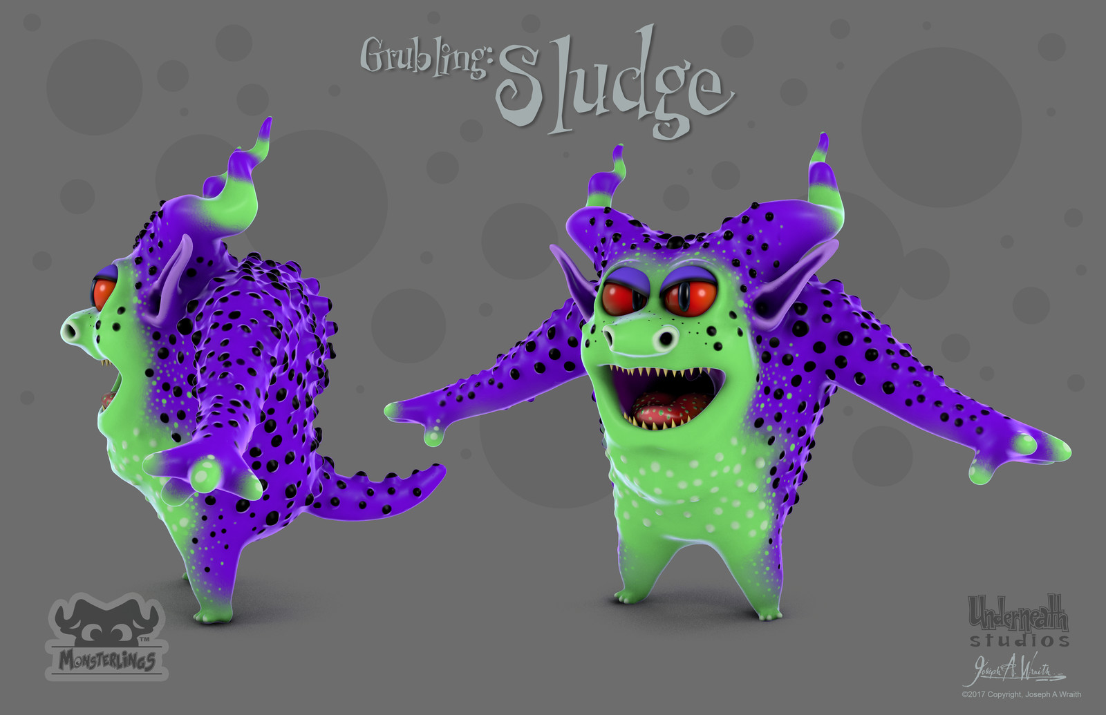 Monsterlings: Grubling - Sludge