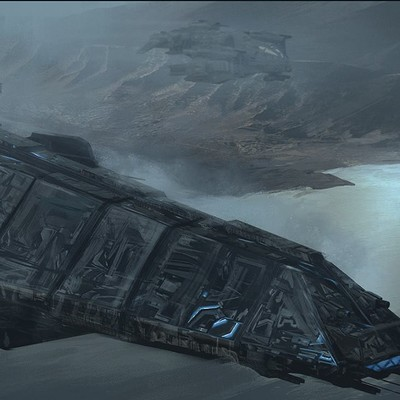 David tilton scifi destroyer obj 3 v11