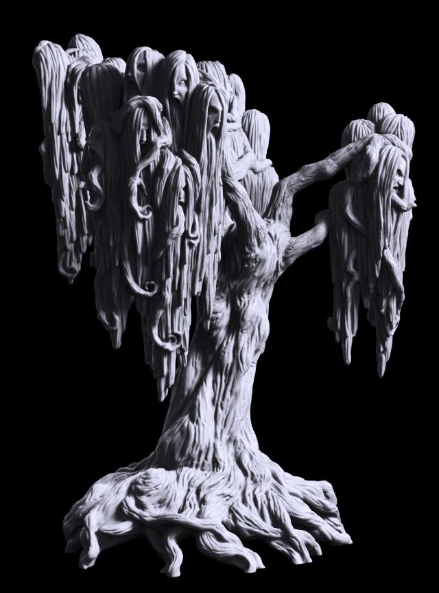 Michael jenkins jinmenju demon tree b