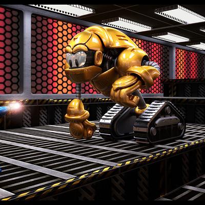 Ian pretorius gorilla tank megaman 6