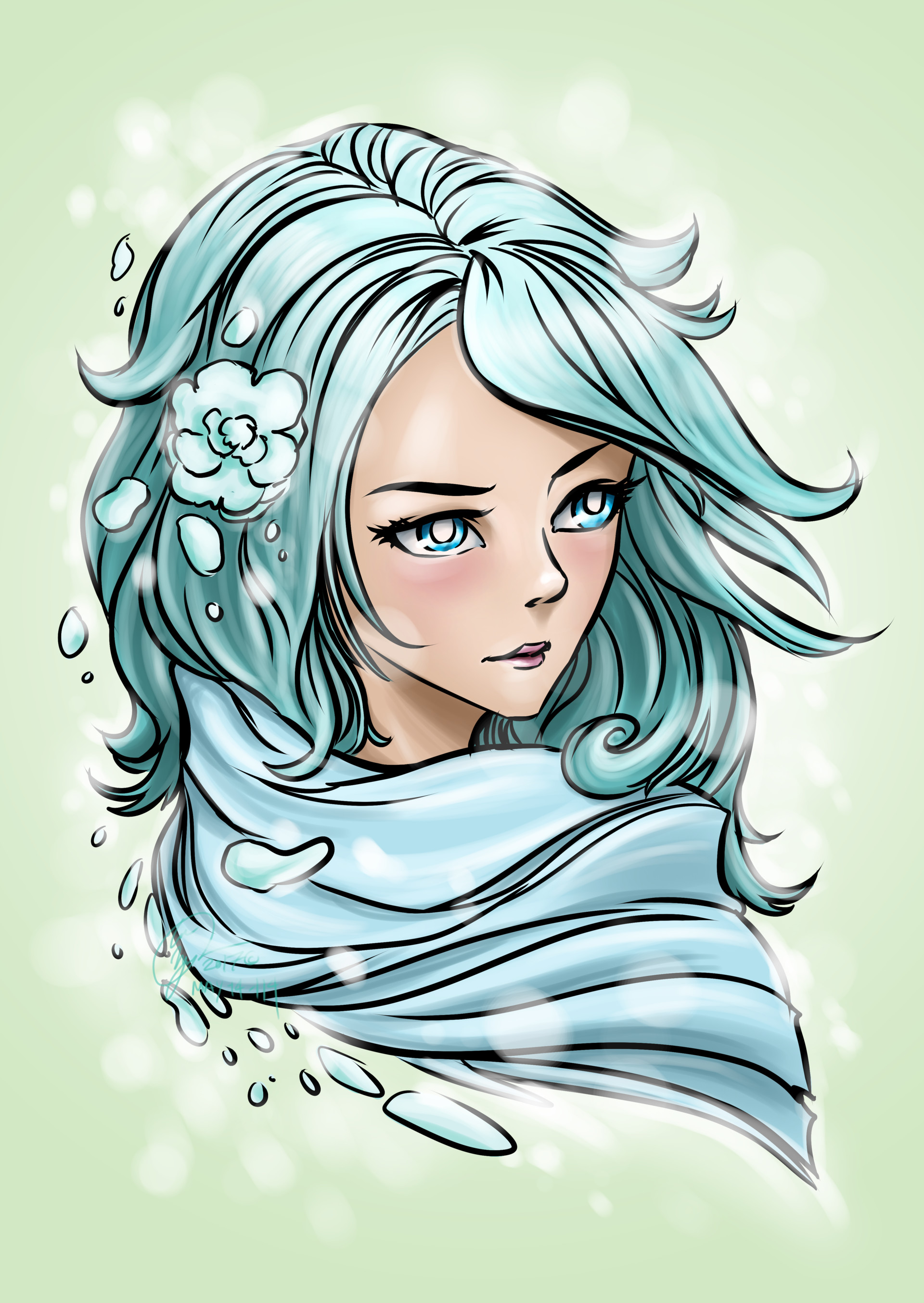 Anime character style
