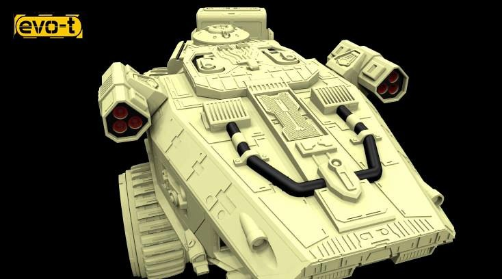 "EVO-T Vehicles "" VARANO"" APC"