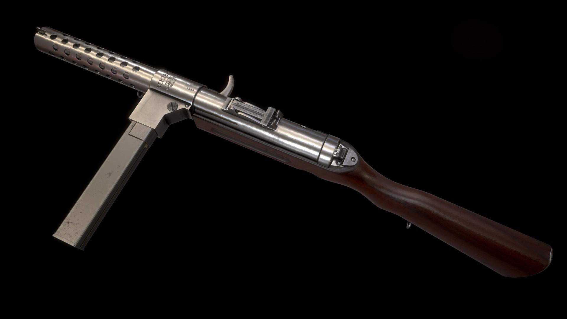 Laxman Singh - WWII Schmeisser MP-28