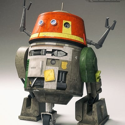 Paul wiz johnson chopper starwars rebels
