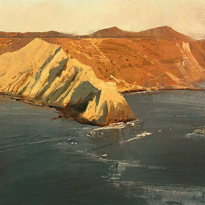 Greg rutkowski study coast 1920