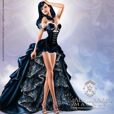 Aemiliana magnus aemiliana magnus concept art costume design 1