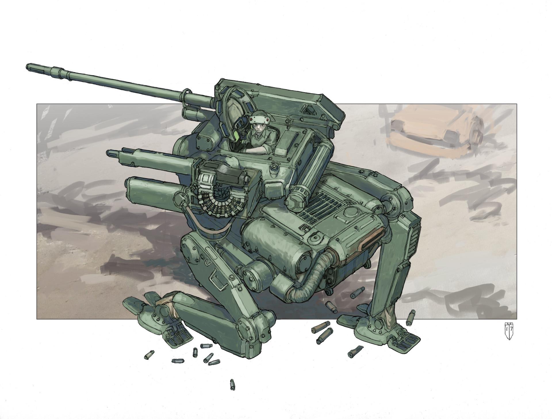 Armored Walker