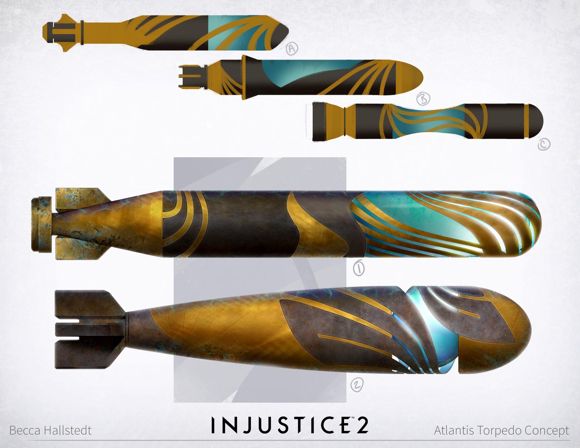 Torpedo concepts for the Atlantis level