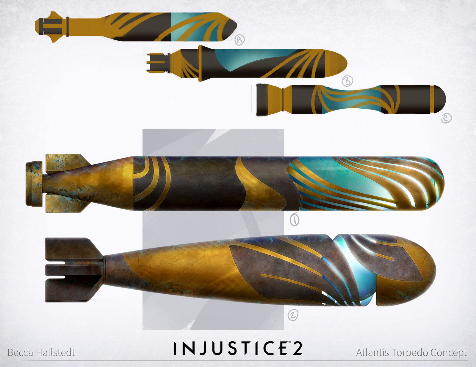 Injustice 2: Atlantis/Black Canary/Captain Cold/Deadshot