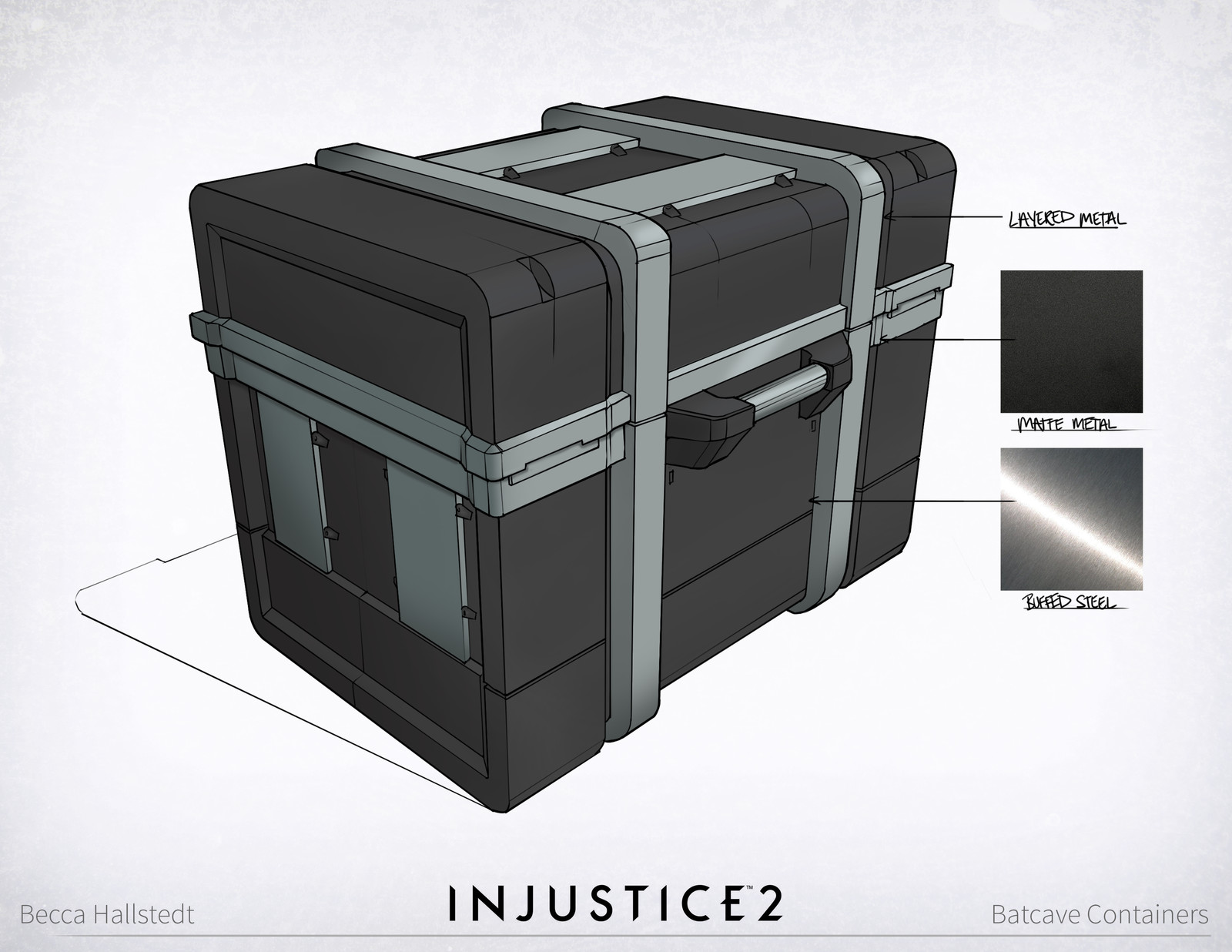 Injustice 2: Batcave Containers
