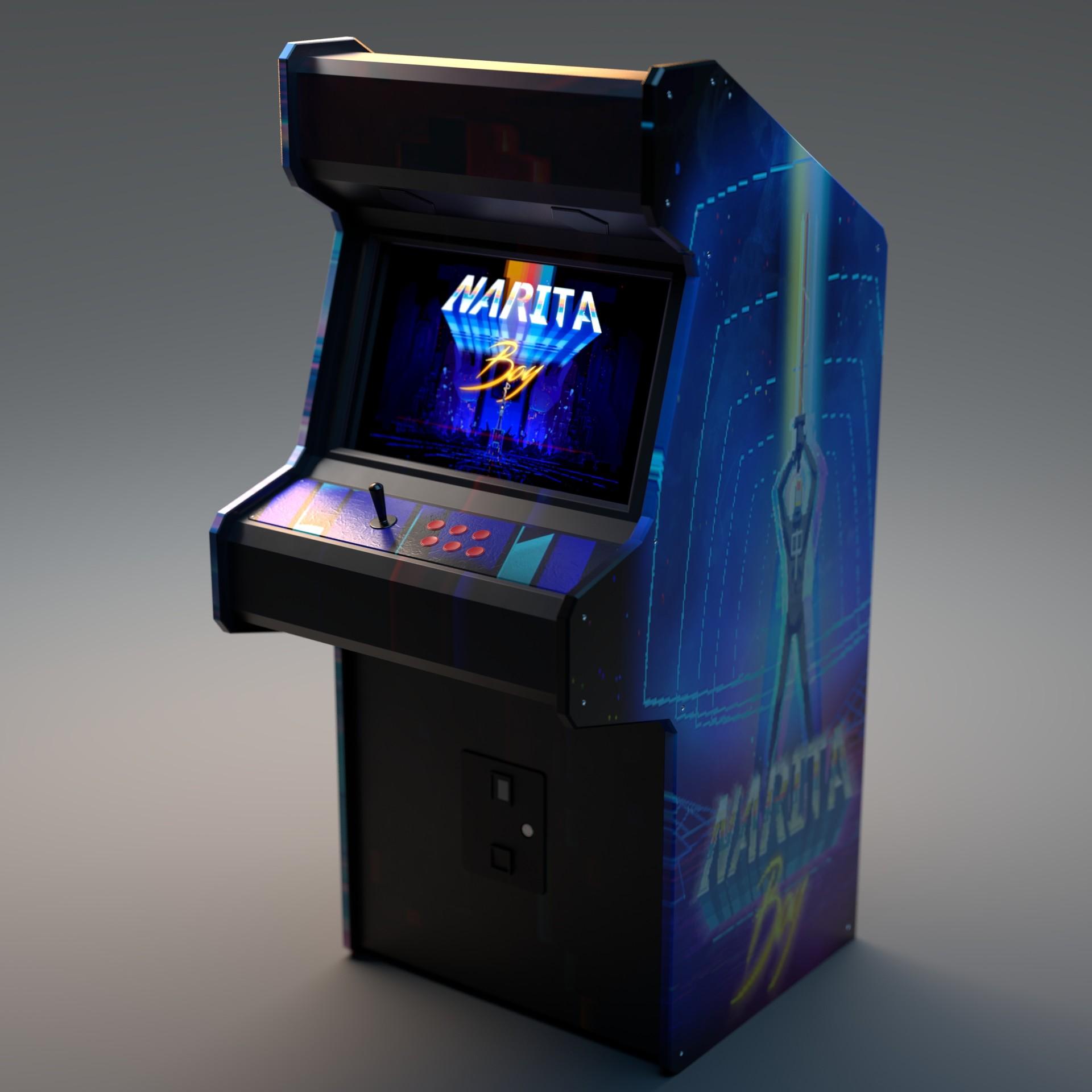 Alperen ozgur arcade machine 1