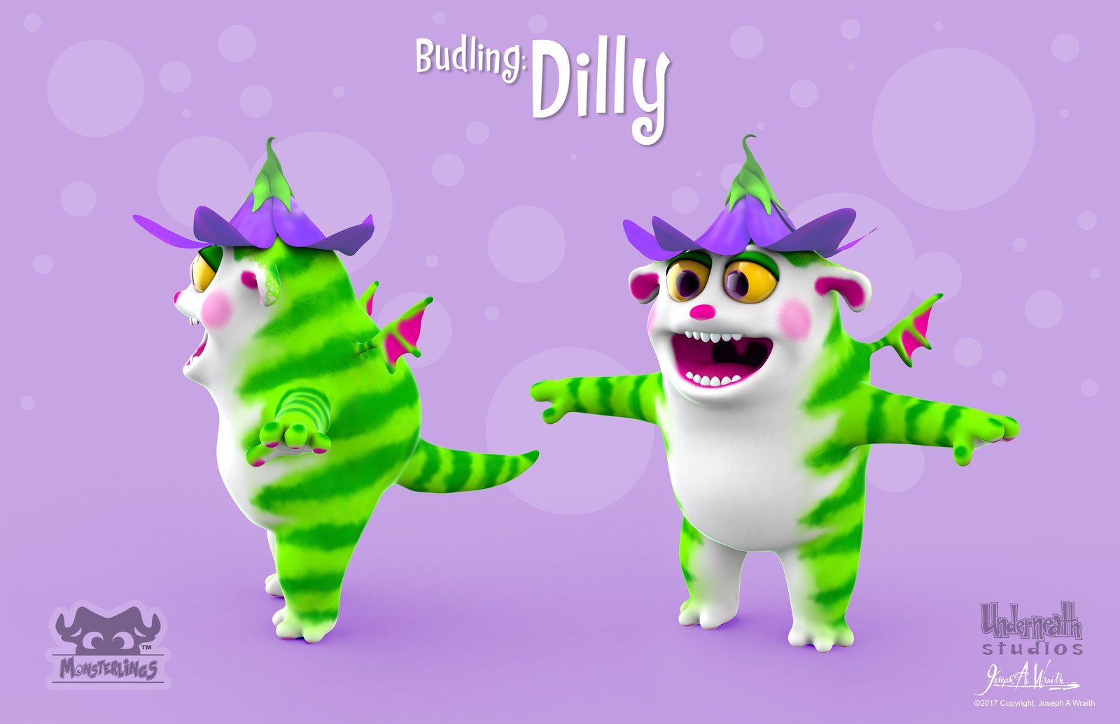 Monsterlings: Budling - Dilly