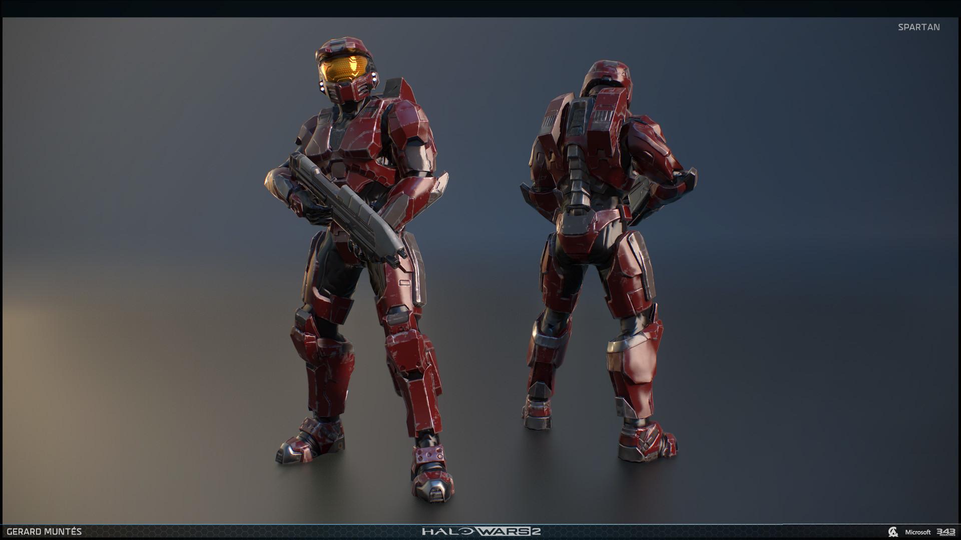 Gerard Muntés - Halo wars 2 Spartan